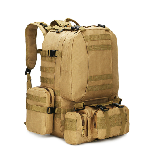 RAMBO 4 In 1 50L Military Tactical  Bag 4 Colors