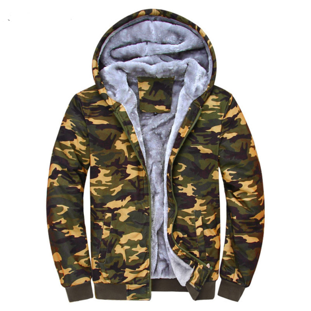 Autumn Thick Camouflage Hoodie