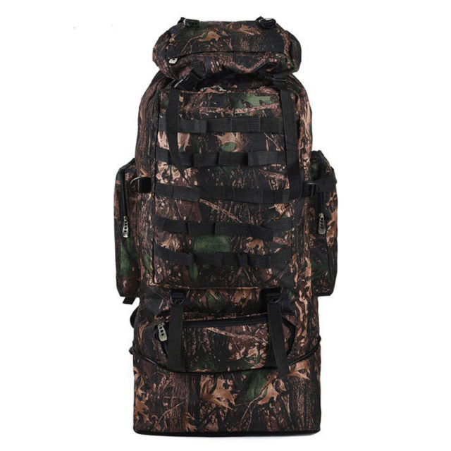 Travelo 100L Military Molle Tactical Backpack