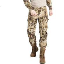CHOCO Men Military Tactical Camouflage Cargo Pants 11 Solid Colors
