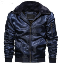 Thick Winter Bomber Jacket