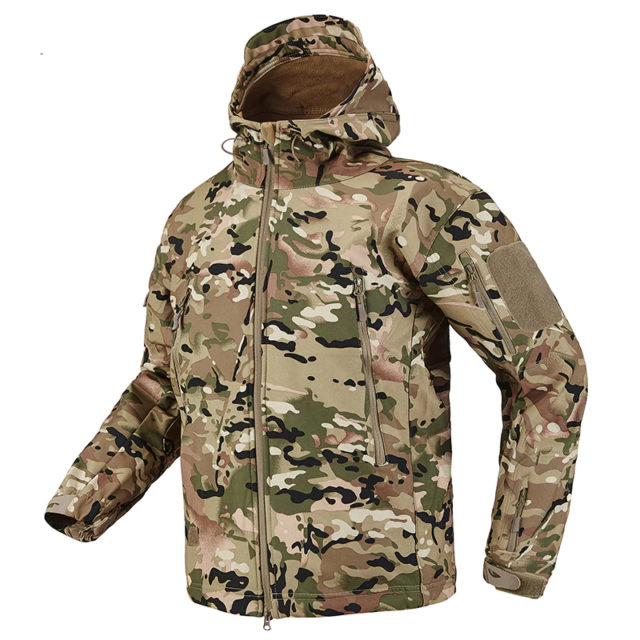 Waterproof Soft Shell Tactical Jacket