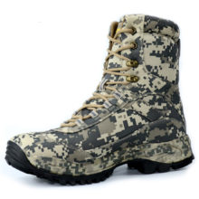 New Men Fashion Army Desert Boots Military Tactical Lace Up Canvas Camouflage Boots Anti-skid Combat Work Shoes
