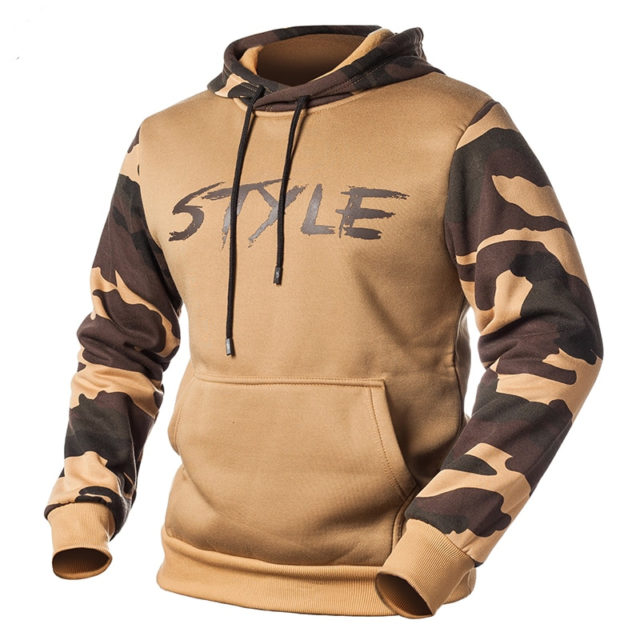 Style Boy Camouflage Hoodies