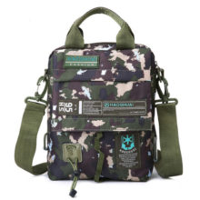 Men Women's New style Tactical Bag Oxford Messenger Military Camouflage Crossbody Shoulder Bags Sports Toolkit Handbag